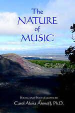 La natura della musica: POESIE e fotografie, Aronoff, CAROL, NUOVO LIBRO mon0000027879