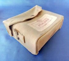 Israel Old First Aid Bag Pouch of Health Fund Made by M.E.C 1950 W Metal Inner