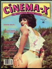 CINEMA REVIEW Mar 1980 DESEREE COUSTEAU Jennifer Welles SEXPLOITATION MAGAZINE