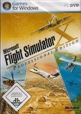 Microsoft FLIGHT SIMULATOR X PROFESSIONAL DELUXE EDITION Neuwertig