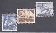 GERMANY STAMPS #B191,B204-B205--  (3) HORSE SETS -- 1941  -- MINT