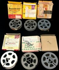 ~Vintage 1950's/60's 8mm Home Movie Film Reel LOT 6 Unknown Content?