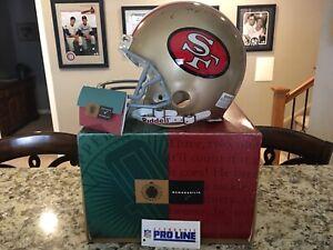 Joe Montana Autographed Authentic San Francisco 49ers Helmet (UDA)