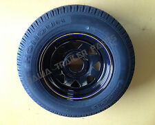 """SUNRAYSIA BLACK 14"""" FORD WITH 185 LT TYRE ! Trailer Parts"""
