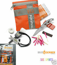 Gerber Bear Grylls Survival Basic 8 Pieces Kit Multi Tool 31-000700 AuSeller