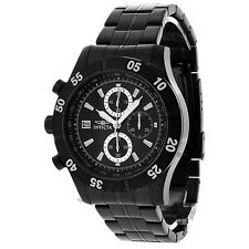 NEW Mens Invicta 11279 Specialty Chronograph Black Dial  Stainless Steel Watch
