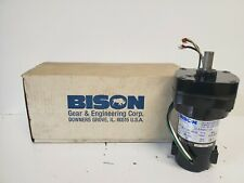 NEW IN BOX! BISON .33A 1/50HP 94 RPM D.C. GEAR MOTOR 011-195-0019