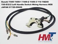 Suzuki T500 T10 TB250 S32-2 Left Handle Switch Wiring Harness 57720-09600 NOS JP