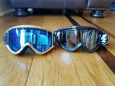 Electric/Scott Lot Of Two (2) Snowboard/Ski Tinted Goggles