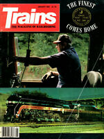 Vintage Trains Magazine Collection 1983 All 12 Issues