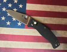 Spyderco C82GP3 D'Allara 3 Folder Knife, CPM-S30V Satin Blade