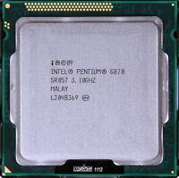 Intel Pentium dual core G870 SR057 CPU + VGA 3.1 Ghz LGA 1155 65W 1333 Mhz FSB