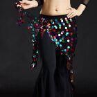 2020 Lady Belly Dance Costumes Hip Scarf Wrap Belt Skirt Sequins triangle