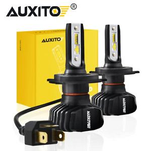 1Pair 100W H4 9003 9000LM LED Headlight kit Lamp Bulbs Globes Hi-Lo Beam Upgrade