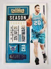 2020-21 Panini Contenders Season Ticket Gordon Hayward Charlotte Hornets