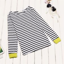 Unbranded Cotton Striped Tops & Shirts for Women