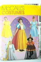 NEW McCall's Costume Princess Storybook Snow White Child 7-8-10 UNCUT Pattern