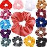 45PCS Women Girls Scrunchy Hair Ties Scrunchie Scrunchies Accessories Velvet HOT