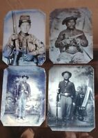 Lot of 4 Civil War tintype Our Best Sellers 501RP $39.99