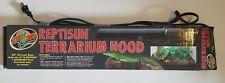 """New listing Zoo Med Reptisun Terrarium Hood 20"""" + Lamp Euc"""