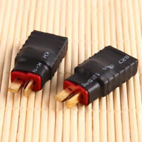 2pcs Wireless Female for Traxxas to T-Plug Deans Style Connector Adapter Tool