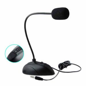 USB-Mikrofon Kondensatormikrofon für PC Laptop Aufnahmemikrofon Standmikrofon