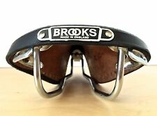 NOS Brooks B5N 1970's Vintage Old School Leather Saddle