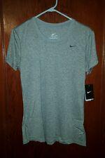 Nike Women's Legend Dri-Fit Tee Grey Size Medium New