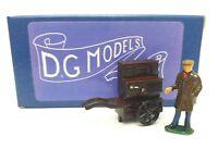 OO GAUGE 1/76 4mm VICTORIAN STREET BARREL ORGAN & FIGURE METAL MODEL MADE IN UK