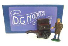 OO 1/76 4mm VICTORIAN STREET BARREL ORGAN & FIGURE METAL MODEL HAND MADE UK
