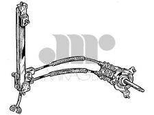 30/210B ALZACRISTALLI ALZAVETRO POSTERIORE SINISTRO ALFA 147 DAL 2000 3/5 PORTE