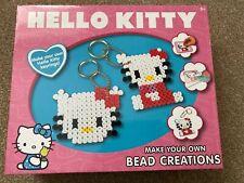 BNIB New Hello Kitty Set - Make Your Own Bead creations  Keyrings Gift