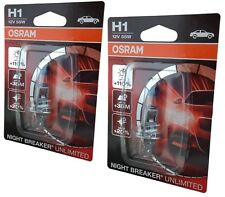 H1 OSRAM Night Breaker Unlimited +110% P14,5s 1er Blister 64150NBU-01B 2st.