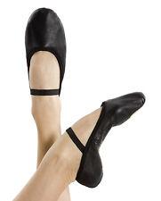 Energetiks Black adult full sole ballet shoe BSA01 size 7B