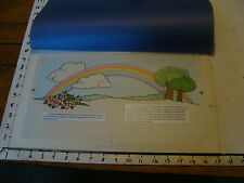 1985 My Little Pony ORIGINAL CELL ART from Magic Rainbow book: RAINBOW