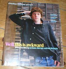 JESSE EISENBERG rare UK magazine from 2011 Yinka Shonibare