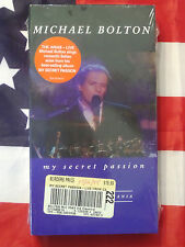NEW Michael Bolton - My Secret Passion (VHS, 1999) The Arias Live Concert