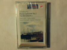 ZUBIN MEHTA EUGENE ORMANDY Tchaikovsky Piano concerto n. 1 mc cassette k7 SEALED