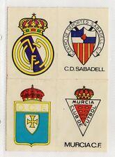 España Pegatinas Escudos Equipos de Futbol (DX-302)