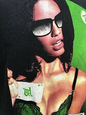 Tits Two in the Shirt T Shirt Sunglasses Brunette Ace Cards 2XL