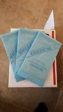 SALE ORECK CC UPRIGHT VACUUM BAGS DEAL 3 FOR $20 NEW Blue Antimicrobial Protect