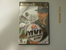 EA SPORTS MVP BASEBALL 2003 PS2 Playstation 2 COMPLETE w/ Case & Manual  TESTED