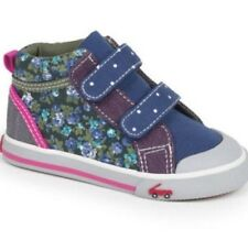 SEE KAI RUN Kya Navy Sneakers PreSchool Girl Sz 11.5 M (B,M) $48 NWB SNK112F230