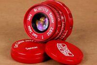 ⭐ Sonnar ⭐ Carl Zeiss Jena 2.8/52mm M39 lens for Leica Zorki Fed( replica )