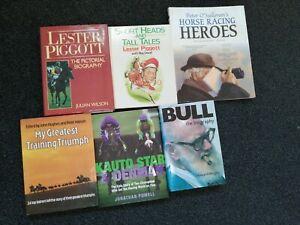 British Horse Racing books X 6