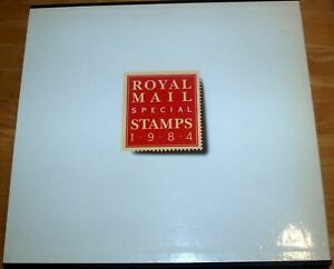 1984 Post Office Year Book Complete with Slip Cover and Stamps