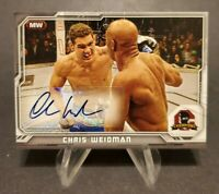 2014 Topps UFC Champions Fighter Autographs #CFA-CW Chris Weidman