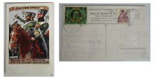 litho burschen heraus kunstkarte signiert k.a. wilke wenn es gilt fürs vaterland