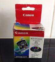 Canon Genuine/Original Colour Ink Cartridge X3 BCI-11