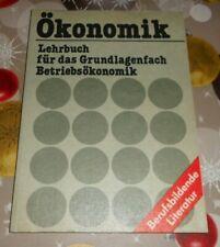 DDR  Ökonomik Lehrbuch für das Grundlagenfach Betriebsökonomik + Lehrausbildung